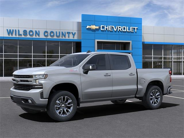 2021 Chevrolet Silverado 1500 Crew Cab 4x4, Pickup #21T233 - photo 3