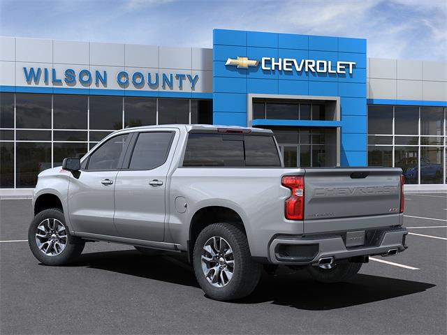 2021 Chevrolet Silverado 1500 Crew Cab 4x4, Pickup #21T233 - photo 4