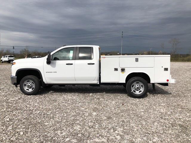 2021 Chevrolet Silverado 2500 Double Cab 4x2, Reading SL Service Body #21T265 - photo 4