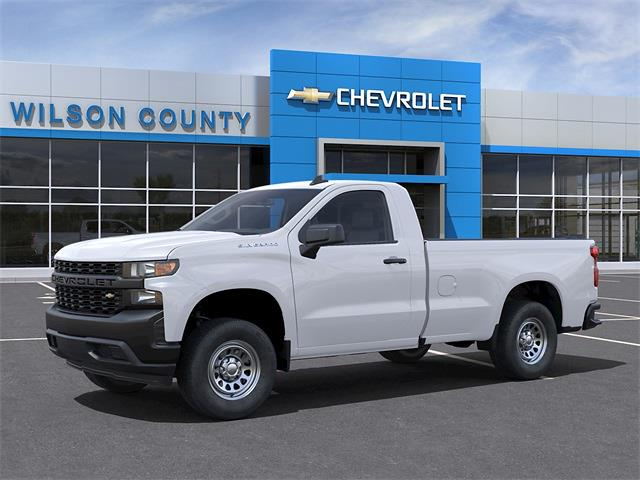 2021 Chevrolet Silverado 1500 Regular Cab 4x2, Pickup #21T341 - photo 3