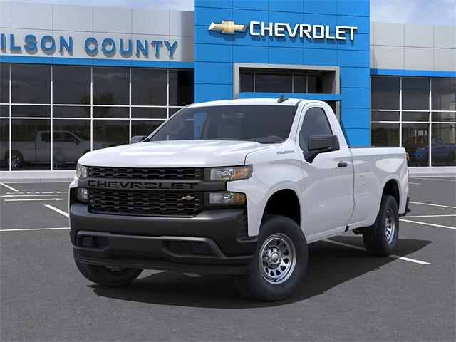2021 Chevrolet Silverado 1500 Regular Cab 4x2, Pickup #21T341 - photo 6