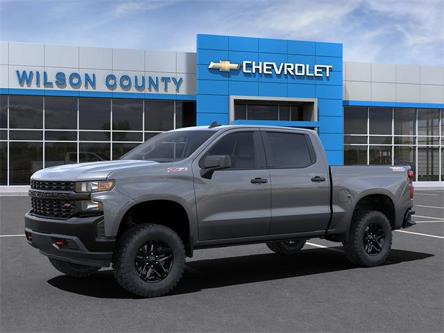 2021 Chevrolet Silverado 1500 Crew Cab 4x4, Pickup #21T342 - photo 3