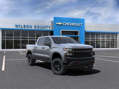 2021 Chevrolet Silverado 1500 Crew Cab 4x4, Pickup #21T342 - photo 1