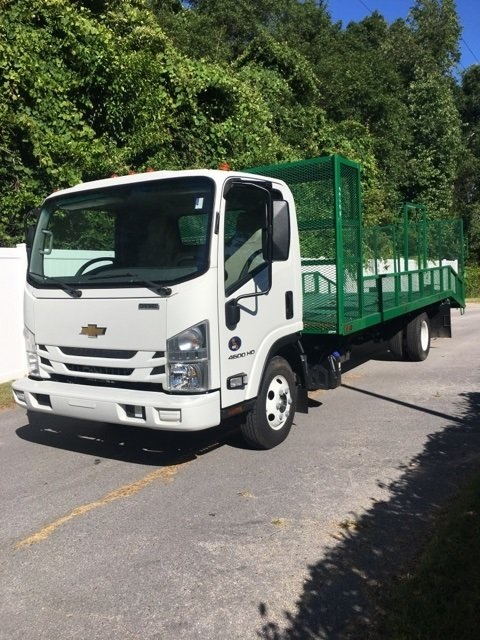 2017 LCF 4500HD Regular Cab 4x2,  Womack Truck Body Dovetail Landscape #F6606 - photo 1