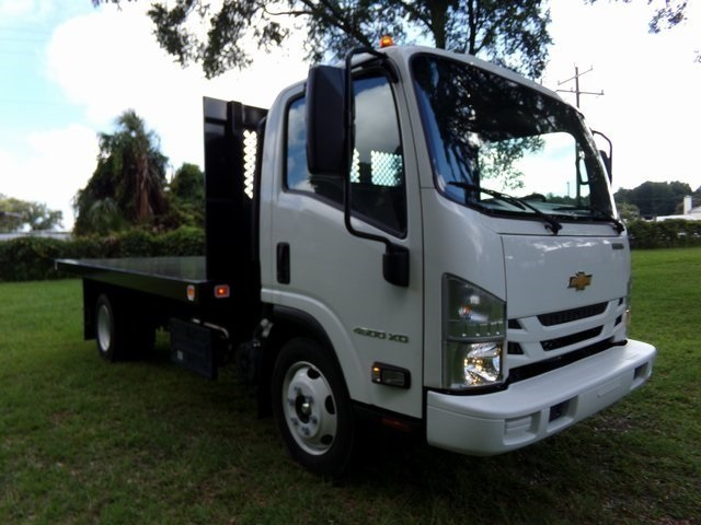 2018 LCF 4500XD Regular Cab 4x2, Knapheide Platform Body #F6609 - photo 1