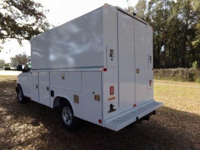 2018 Express 3500 4x2,  Reading Service Utility Van #F6812 - photo 1