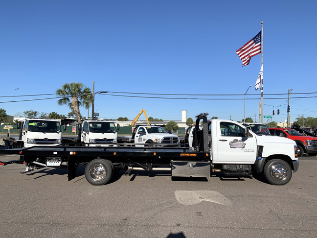 2019 Silverado Medium Duty DRW 4x2,  Jerr-Dan Standard Duty Carriers Rollback Body #F7134 - photo 8