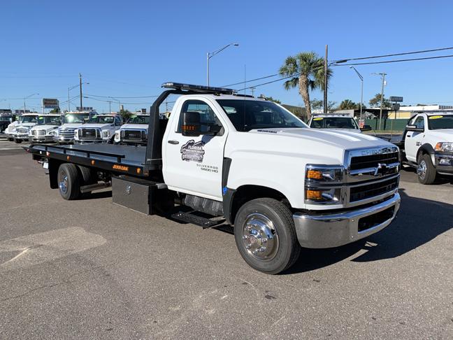 2019 Silverado Medium Duty DRW 4x2,  Jerr-Dan Rollback Body #F7134 - photo 1