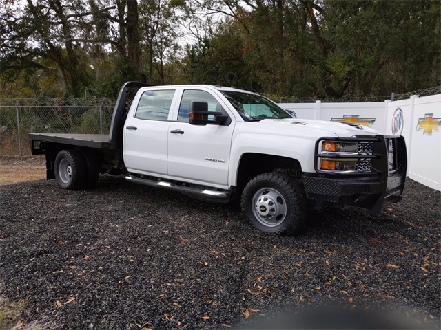 2019 Chevrolet Silverado 3500 Crew Cab DRW 4x4, CM Truck Beds Platform Body #F7807A - photo 1