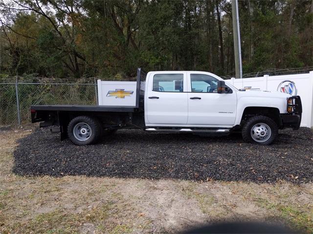 2019 Chevrolet Silverado 3500 Crew Cab DRW 4x4, CM Truck Beds SK Model Platform Body #F7807A - photo 3