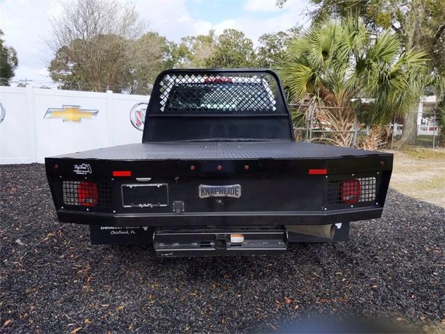 2019 Chevrolet Silverado 3500 Crew Cab DRW 4x4, CM Truck Beds SK Model Platform Body #F7807A - photo 4