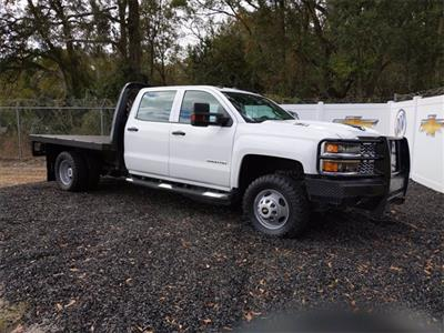 2019 Chevrolet Silverado 3500 Crew Cab DRW 4x4, CM Truck Beds SK Model Platform Body #F7807A - photo 1