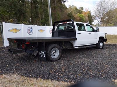2019 Chevrolet Silverado 3500 Crew Cab DRW 4x4, CM Truck Beds SK Model Platform Body #F7807A - photo 2