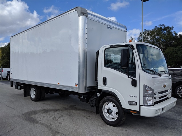 2019 LCF 4500 Regular Cab 4x2, Knapheide Dry Freight #F7281 - photo 1
