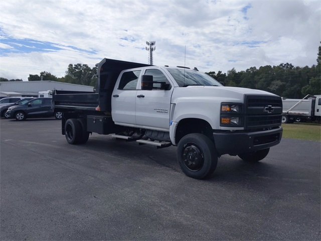 2019 Chevrolet Silverado 5500 Crew Cab DRW 4x4, Monroe Dump Body #F7303 - photo 1
