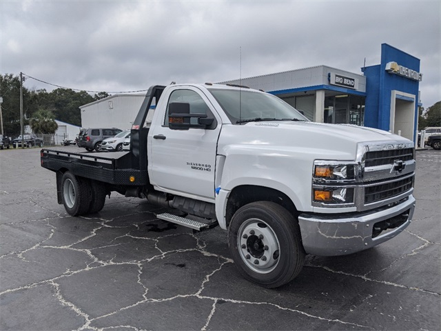 2019 Silverado 4500 Regular Cab DRW 4x2, Monroe Platform Body #F7510 - photo 1