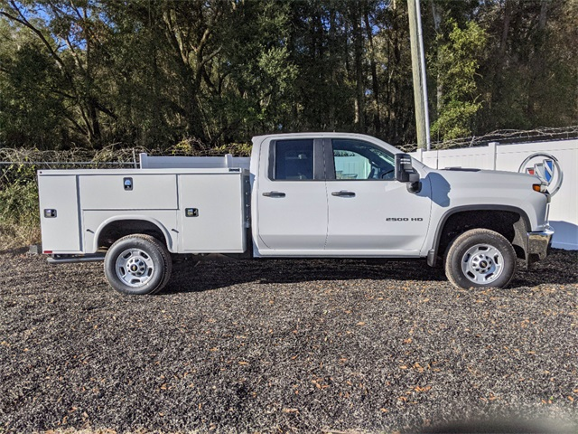 2021 Chevrolet Silverado 2500 Double Cab 4x2, Knapheide Steel Service Body #F7911 - photo 3