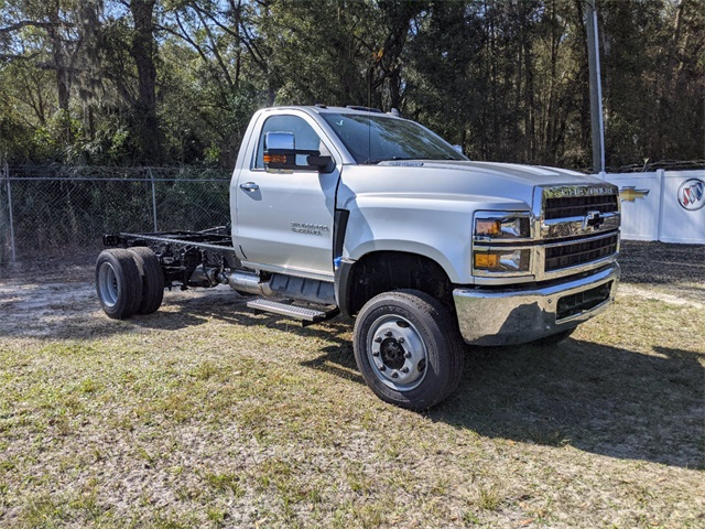 2020 Chevrolet Silverado 4500 Regular Cab DRW 4x4, Cab Chassis #F7912 - photo 1
