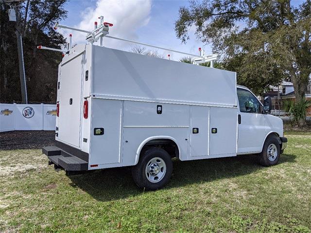 2021 Chevrolet Express 3500 4x2, Knapheide Service Utility Van #F7920 - photo 1