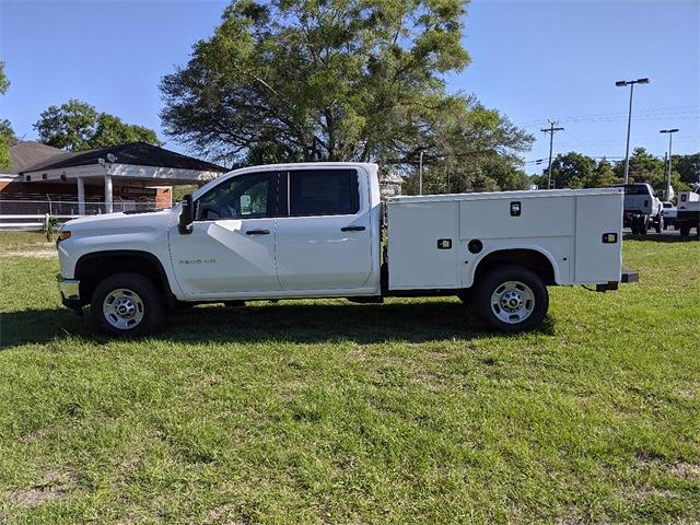 2021 Chevrolet Silverado 2500 Crew Cab 4x4, Knapheide Steel Service Body #F8012 - photo 5