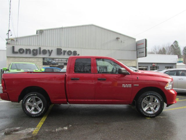 2018 Ram 1500 Quad Cab 4x4, Pickup #15943 - photo 7