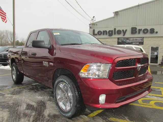 2018 Ram 1500 Quad Cab 4x4, Pickup #15971 - photo 1