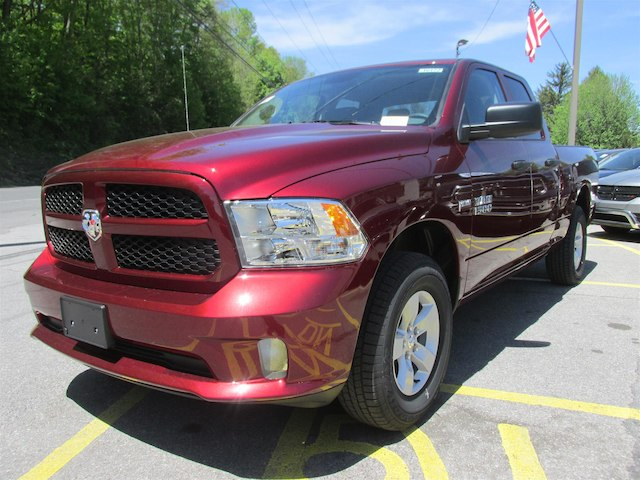 2018 Ram 1500 Quad Cab 4x4, Pickup #16172 - photo 4