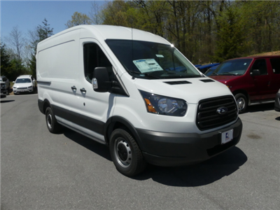 2018 Transit 150 Med Roof 4x2,  Empty Cargo Van #187041 - photo 3