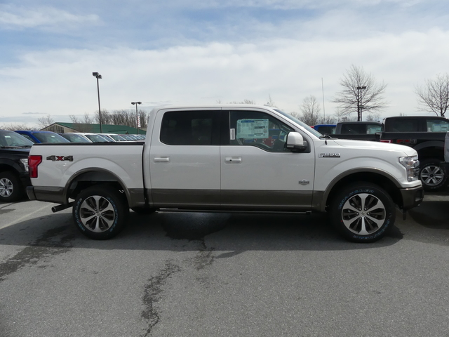 2018 F-150 SuperCrew Cab 4x4,  Pickup #188237 - photo 4