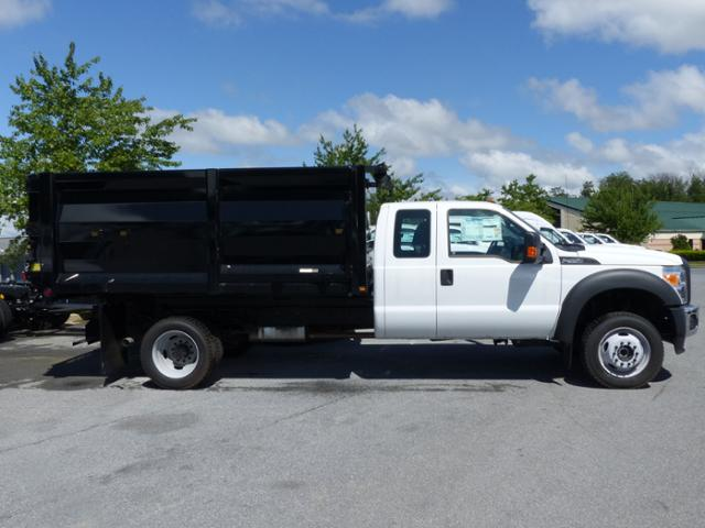 2016 F-550 Super Cab DRW 4x4, Rugby Landscape Dump #Z168678 - photo 5