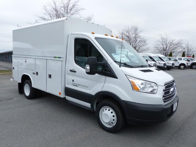 2017 Transit 350 HD Low Roof DRW, Reading Service Utility Van #Z177030 - photo 3