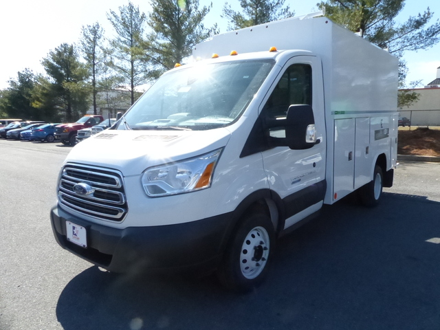 2018 Transit 350 HD DRW 4x2,  Service Utility Van #Z187028 - photo 1