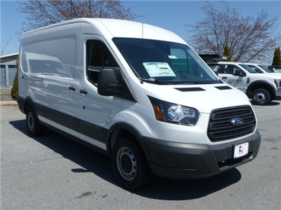 2018 Transit 250 Med Roof 4x2,  Empty Cargo Van #Z187032 - photo 4