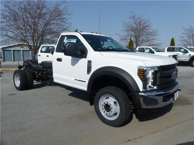 2018 F-550 Regular Cab DRW, Cab Chassis #Z188234 - photo 1