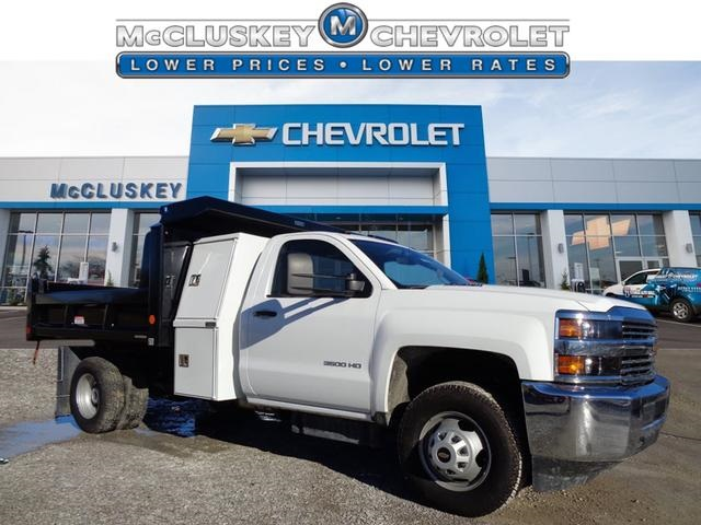 2016 Silverado 3500 Regular Cab DRW 4x4, Reading Marauder SL Dump Dump Body #162799 - photo 1