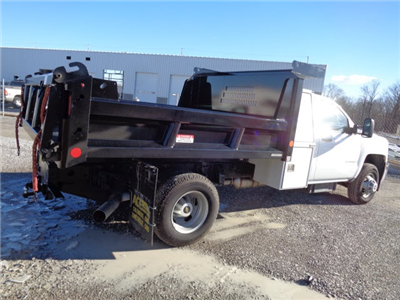 2016 Silverado 3500 Regular Cab DRW 4x4, Reading Marauder SL Dump Dump Body #162799 - photo 2
