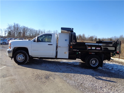 2016 Silverado 3500 Regular Cab DRW 4x4, Reading Marauder SL Dump Dump Body #162799 - photo 6