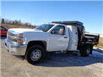 2016 Silverado 3500 Regular Cab DRW 4x4, Reading Marauder SL Dump Dump Body #162799 - photo 7