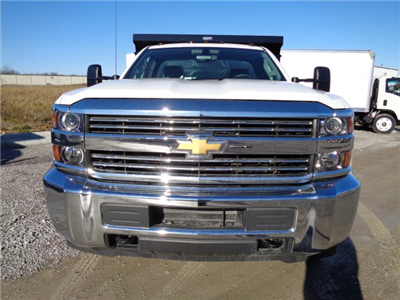 2016 Silverado 3500 Regular Cab DRW 4x4, Reading Marauder SL Dump Dump Body #162800 - photo 8