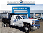 2016 Silverado 3500 Regular Cab DRW 4x4, Reading Marauder SL Dump Dump Body #162800 - photo 1