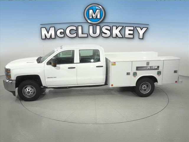 2016 Silverado 3500 Crew Cab DRW 4x2,  Reading Service Body #162859 - photo 8