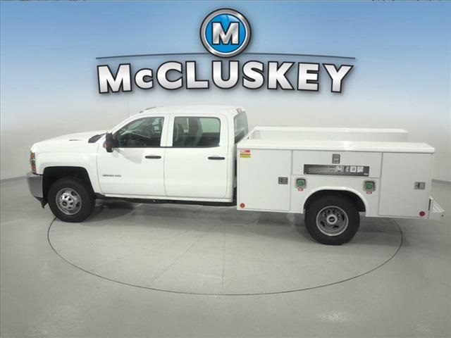 2016 Silverado 3500 Crew Cab DRW 4x2,  Reading Classic II Steel Service Body #162859 - photo 9