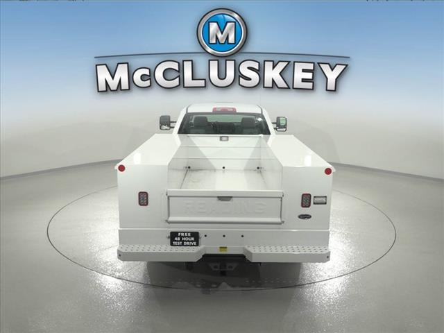 2016 Silverado 3500 Crew Cab DRW 4x2,  Reading Classic II Steel Service Body #162859 - photo 12