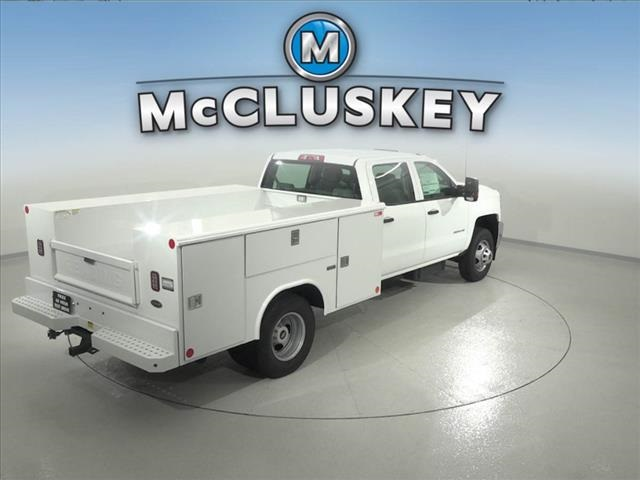 2016 Silverado 3500 Crew Cab DRW 4x2,  Reading Classic II Steel Service Body #162859 - photo 14