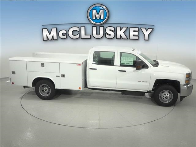 2016 Silverado 3500 Crew Cab DRW 4x2,  Reading Classic II Steel Service Body #162859 - photo 17
