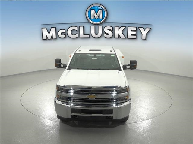 2016 Silverado 3500 Crew Cab DRW 4x2,  Reading Classic II Steel Service Body #162859 - photo 5