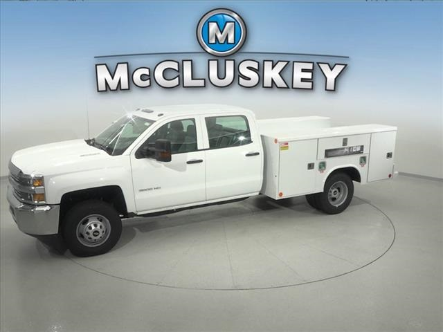 2016 Silverado 3500 Crew Cab DRW 4x2,  Reading Service Body #162859 - photo 7