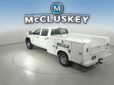 2016 Silverado 3500 Crew Cab DRW 4x2,  Reading Classic II Steel Service Body #162859 - photo 2