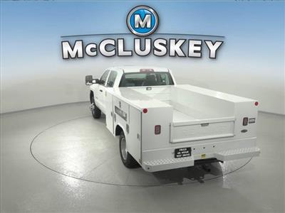2016 Silverado 3500 Crew Cab DRW 4x2,  Reading Classic II Steel Service Body #162859 - photo 11