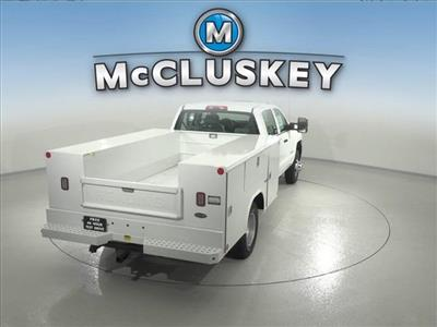 2016 Silverado 3500 Crew Cab DRW 4x2,  Reading Classic II Steel Service Body #162859 - photo 13